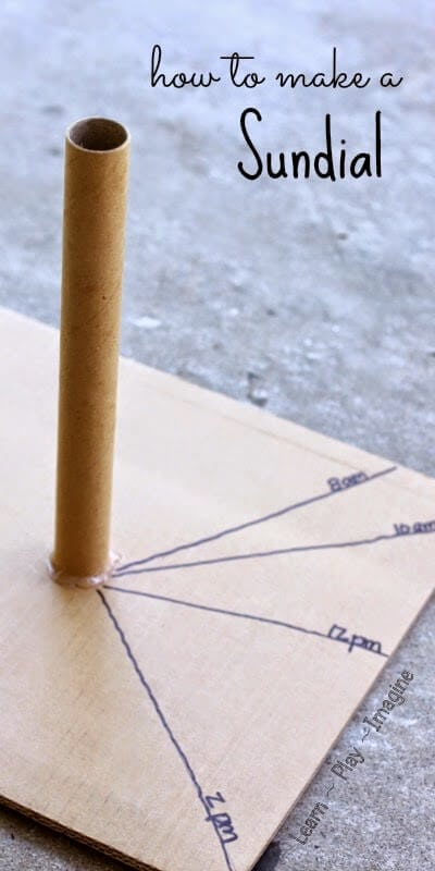 How to make a sundial (2)