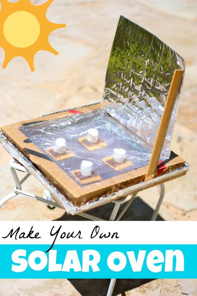 20 educational summer boredom busters happiness is homemade for How to build a solar oven for kids