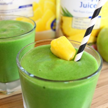 Mean Green Machine Pineapple Smoothie