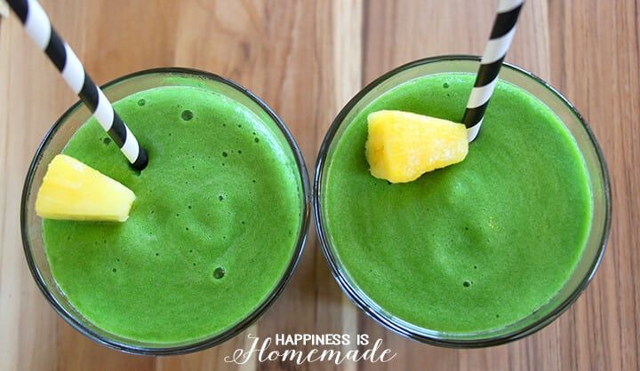Mean Green Machine Smoothies