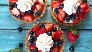 Fresh Berries + Whipped Coconut Cream Tart