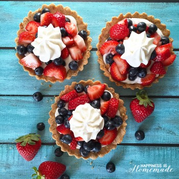 Paleo Friendly Berry Tart