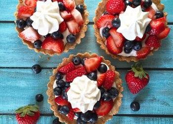 Fresh Berries + Whipped Coconut Cream Tart