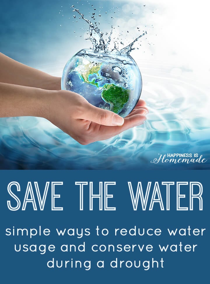 A Simple Poster On Save Water