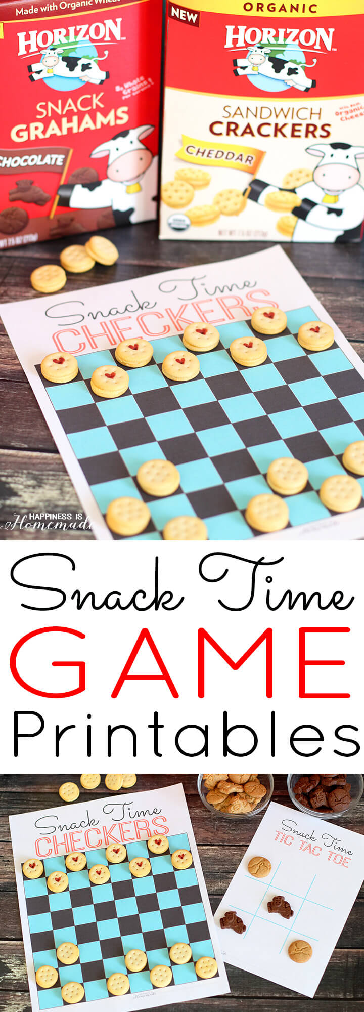 Snack Time Game Printables