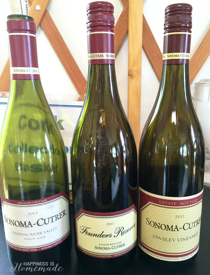 Sonoma-Cutrer Red Wines