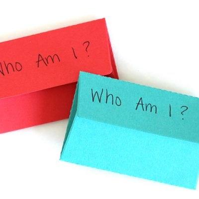 "Homeschool: ""Who Am I?"" History Trivia Game"