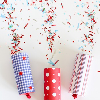 4th of July Confetti Poppers