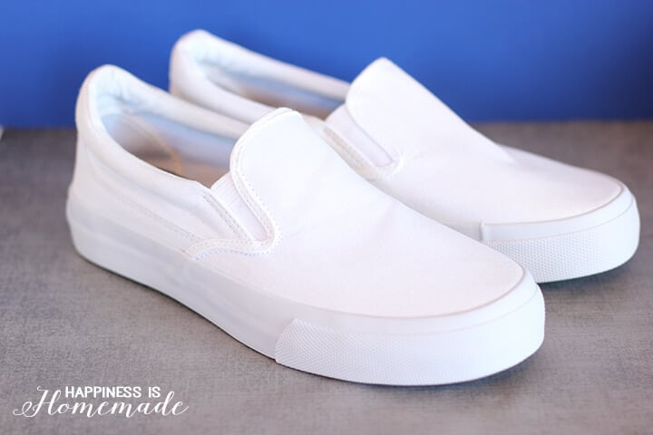 Blank White Canvas Shoes
