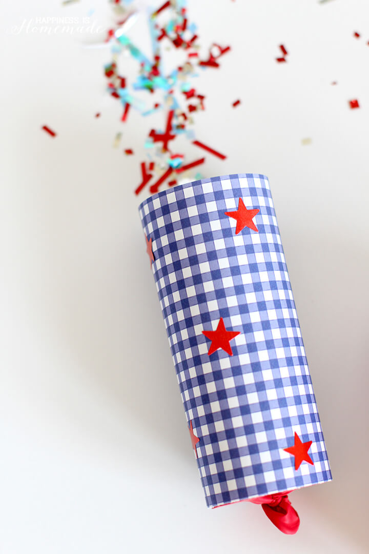 Confetti Poppers Kids Craft