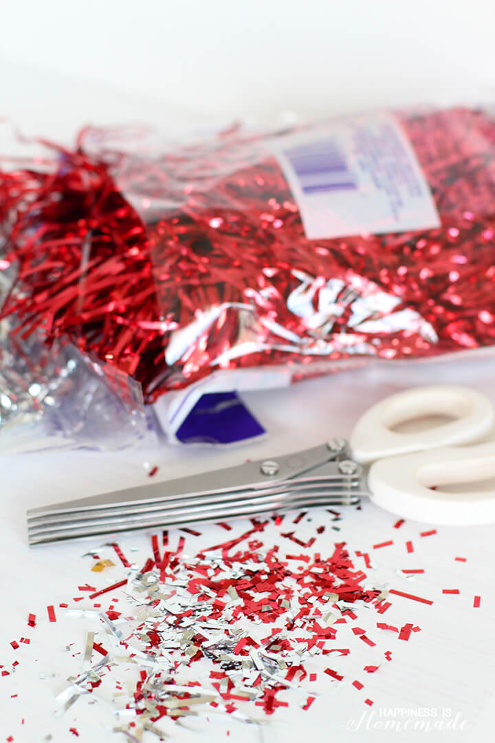 Easily Make Your Own Confetti with Shredding Scissors