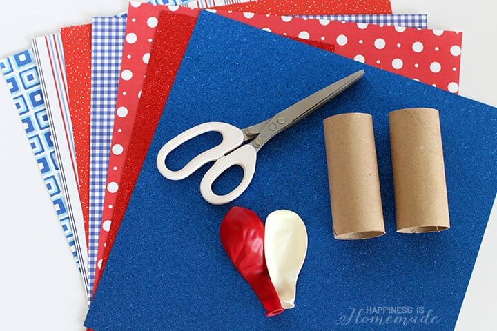 Supplies to Make DIY Confetti Poppers