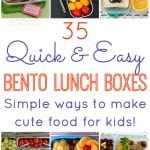 35 Quick & Easy Bento Lunch Boxes
