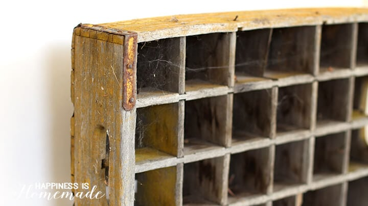 Dirty Old Soda Crate