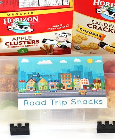 Horizon Organic Snacks On the Go