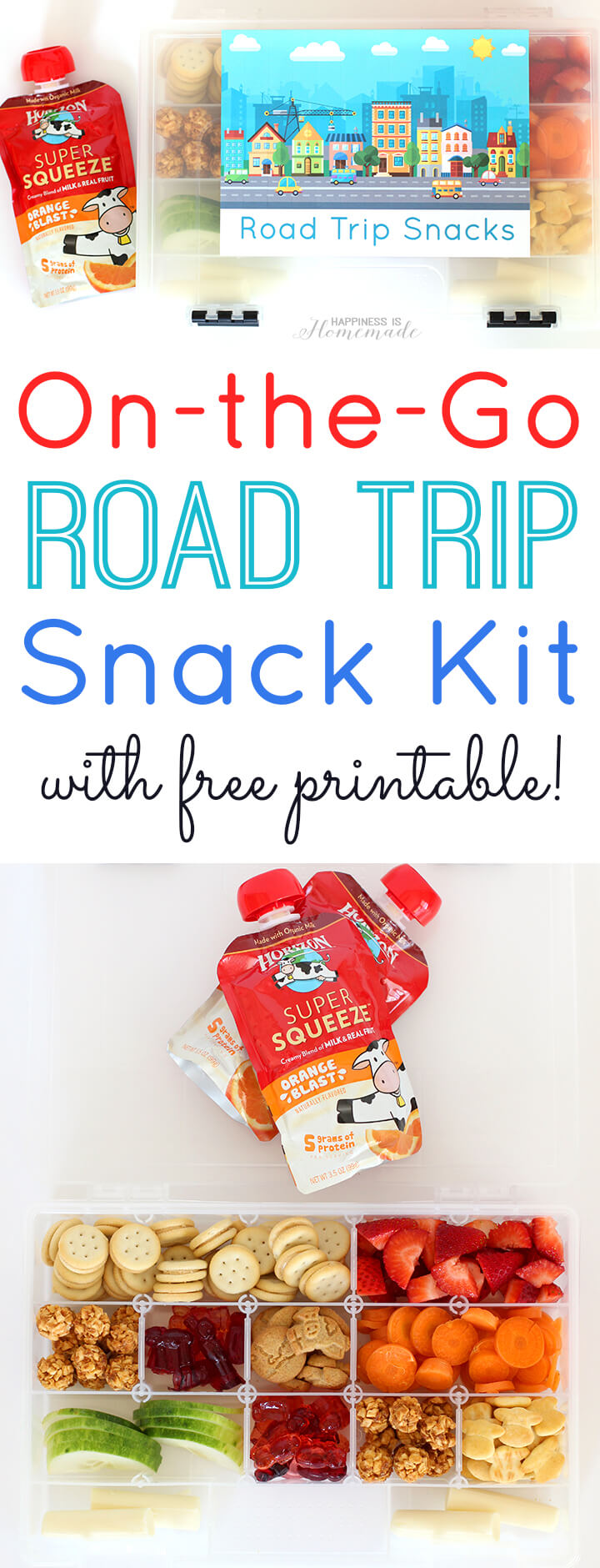 On the Go Road Trip Snack Kit