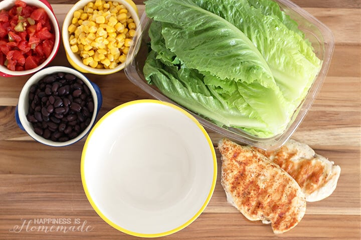 Quick and Easy Chicken Taco Salad Recipe