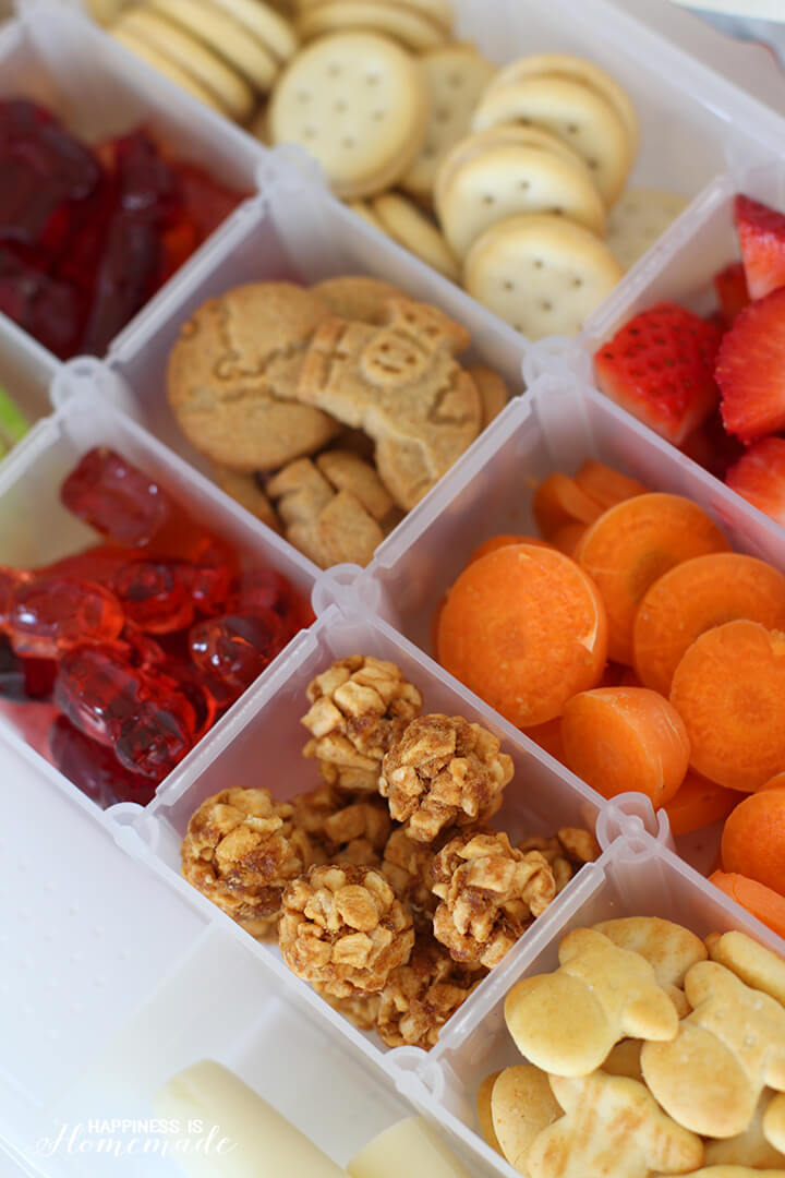 Road Trip Snack Box Filled with Healthy Horizon Organic Snacks