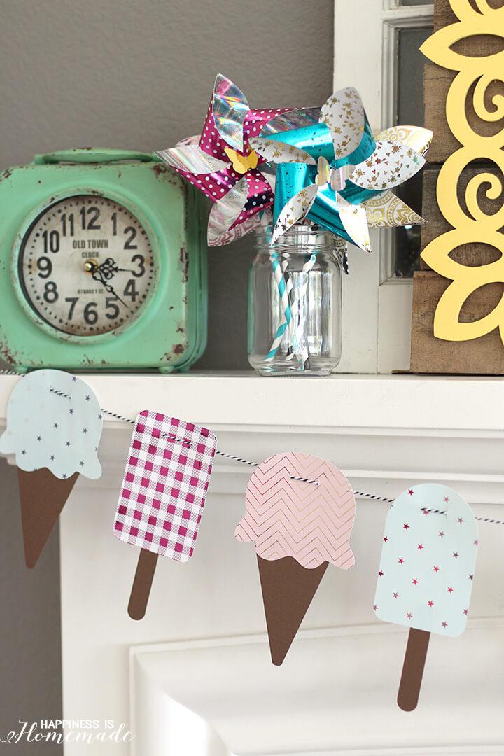Summer Ice Cream Banner