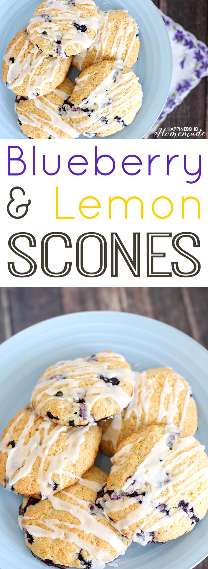 The Best Blueberry Lemon Scone Recipe Ever