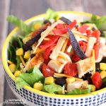 Quick & Easy Fiesta Chicken Taco Salad