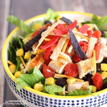 The Best Chicken Taco Salad Recipe