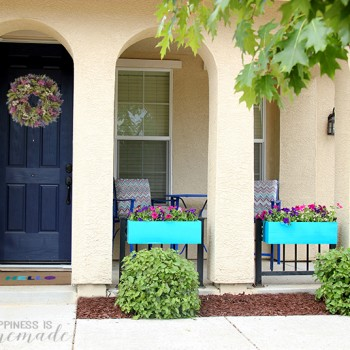 Add Instant Curb Appeal with Bright Window Box Planters