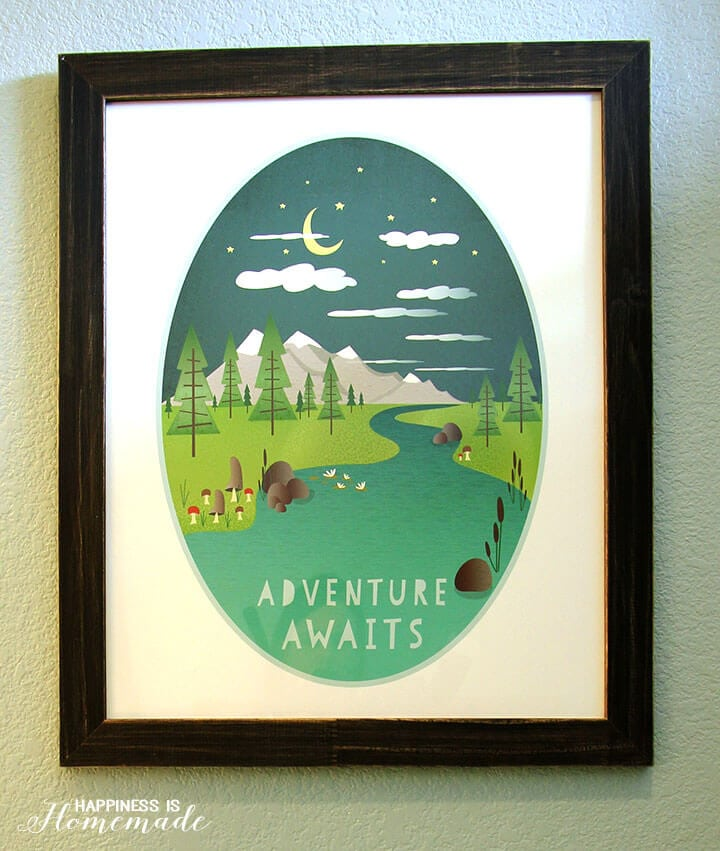 Adventure Awaits Minted Kids Art Print