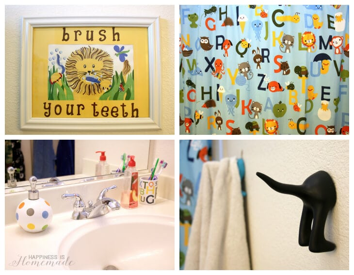 Bathroom Before - Alphabet Style
