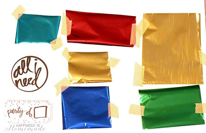 Minc Foil and Washi Tape