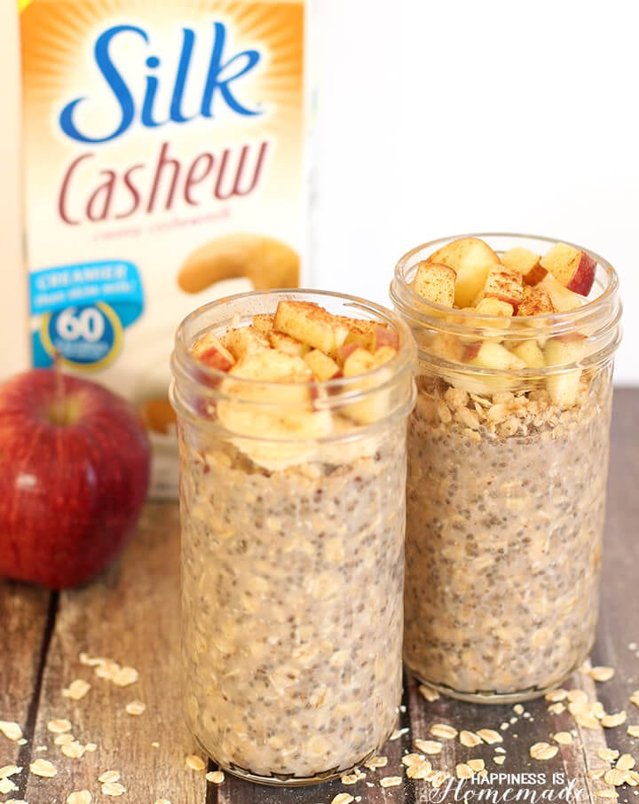Overnight Apple Cinnamon Chia Oats Recipe