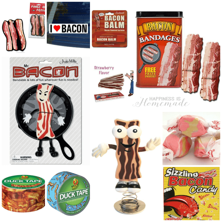 Bacon Party Prizes and Novelty Gag Gifts
