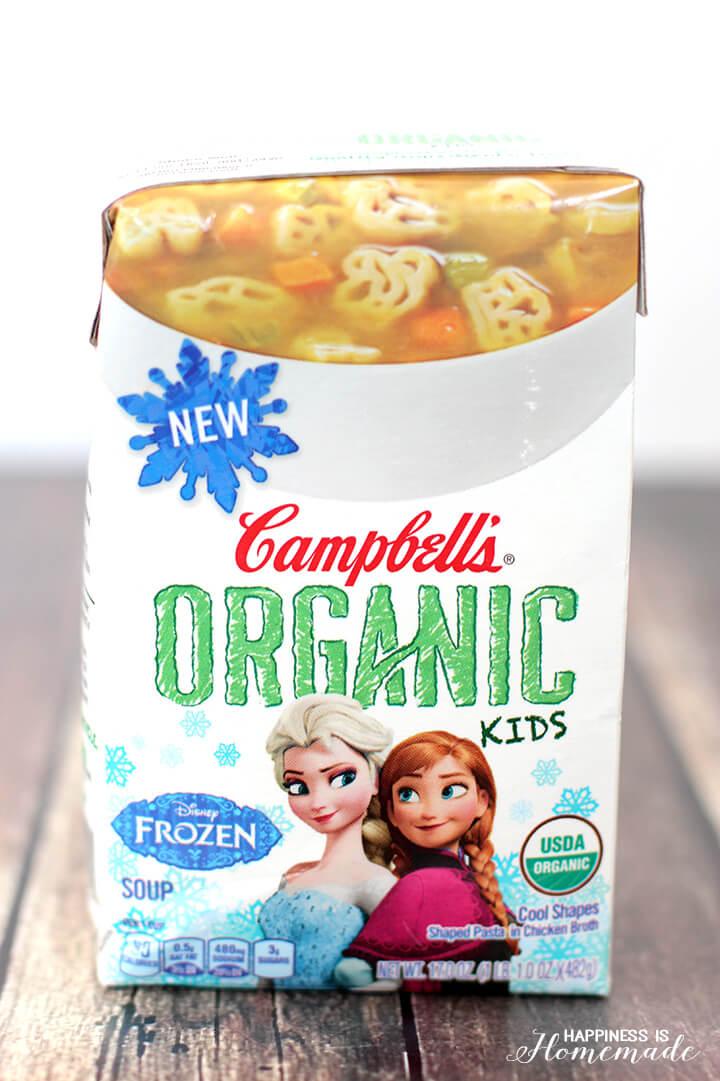 Campbells Organic Kids Soup