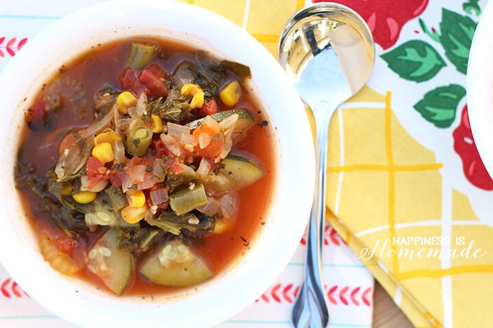 Creamy Hearty Vegetable Soup Recipe
