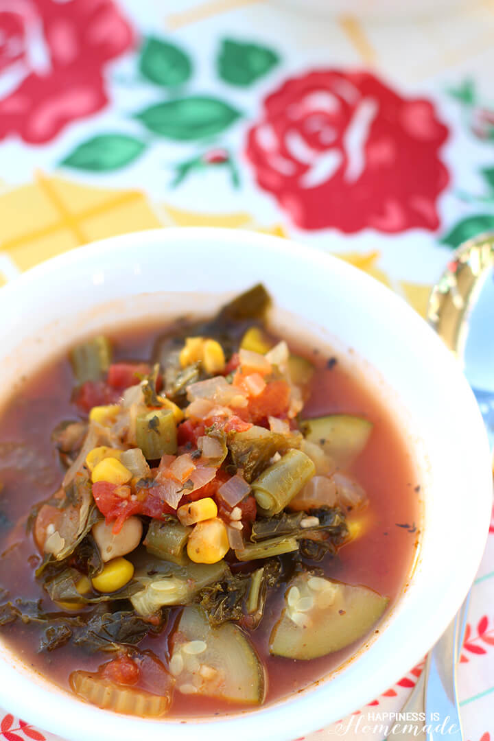 Creamy Vegetable Soup Recipe for a Hearty Meatless Monday