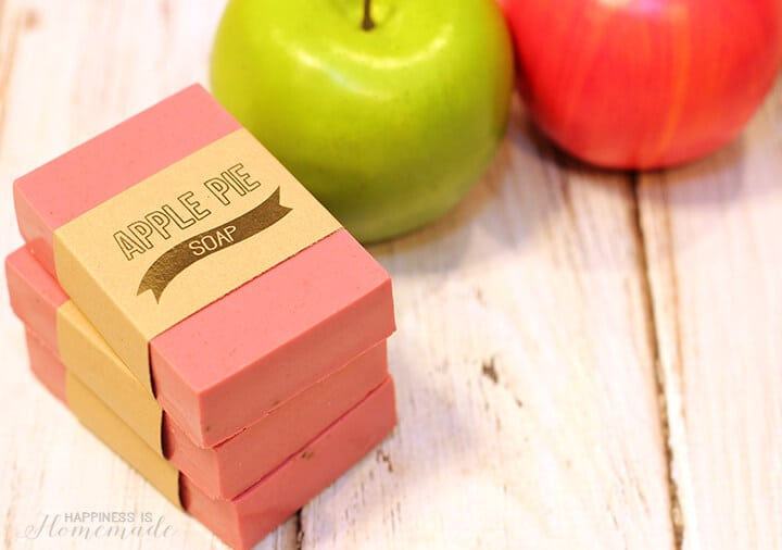DIY Apple Pie Soap in 10 Minutes