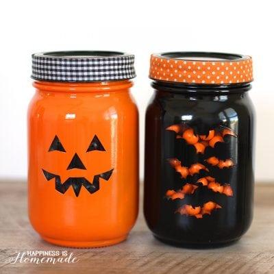 Quick & Easy Halloween Treat Jars