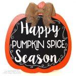 Happy Pumpkin Spice Season!
