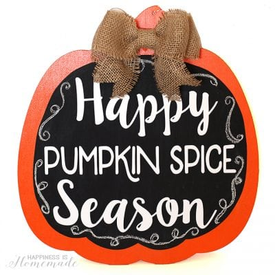 """Happy Pumpkin Spice Season"" FREE SVG Cut File"