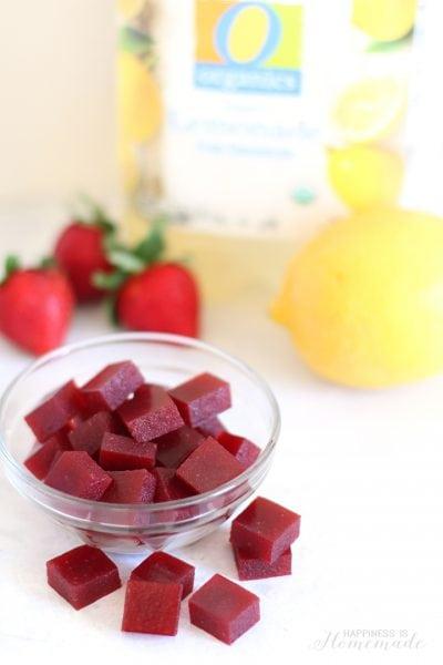 Strawberry Lemonade Gummy Fruit Snacks