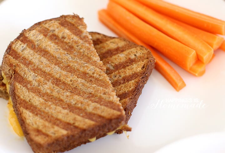 Kids Cook - Grilled Cheese and Carrot Sticks
