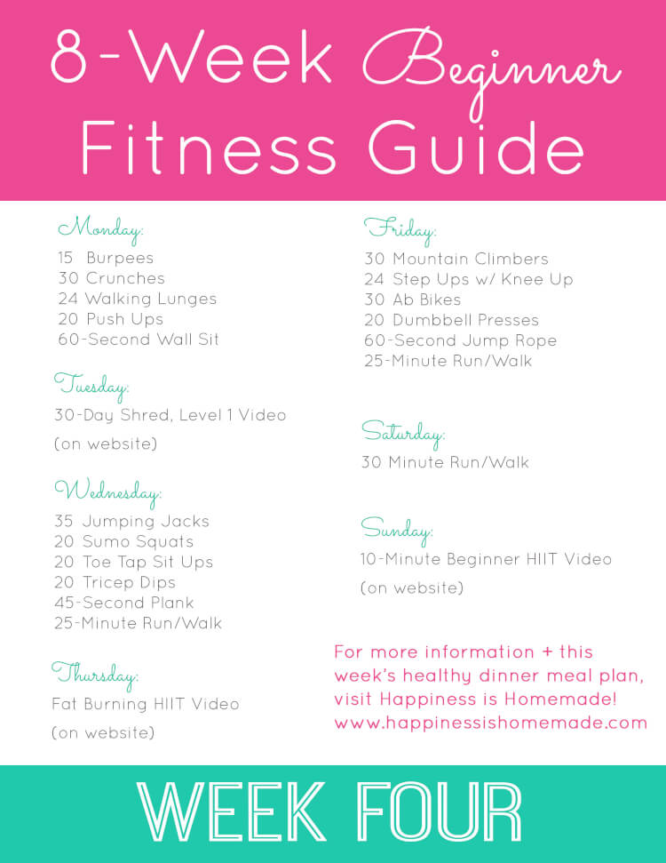 Micro Hiit 7-day Progran | Fit & Fine & Fabulous ...