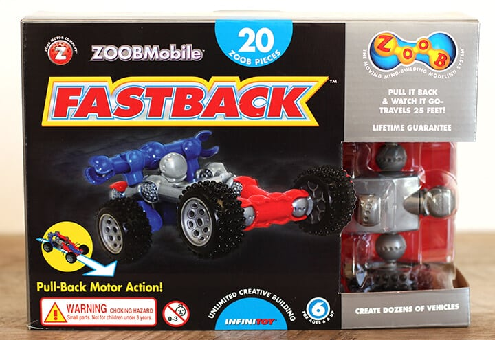 ZoobMobile Fastback Pull Back Racer