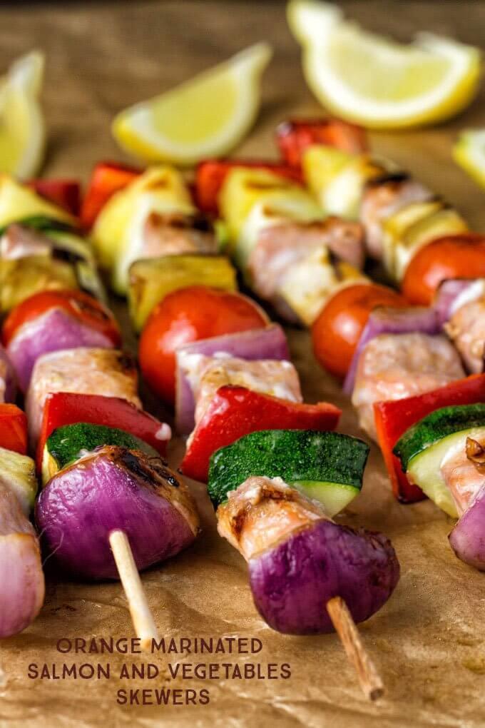 salmon-vegetable-skewers