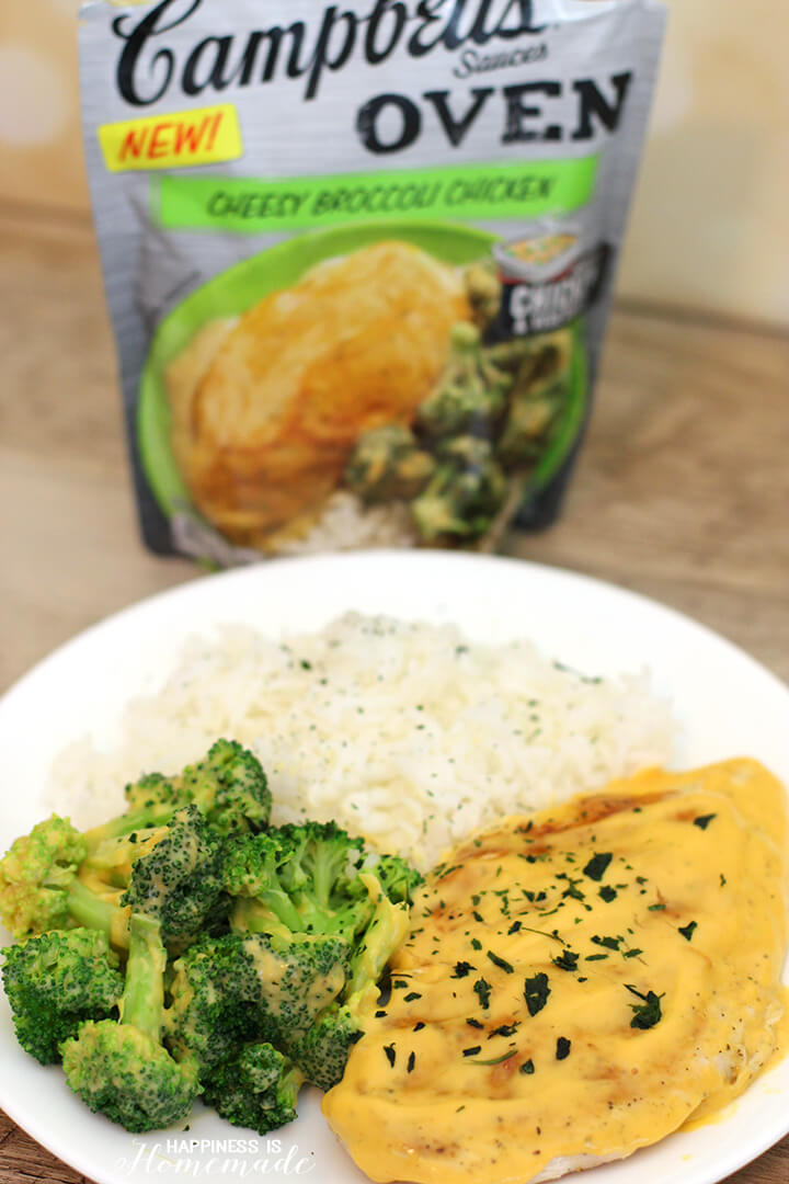 Campbell's Cheesy Broccoli Chicken