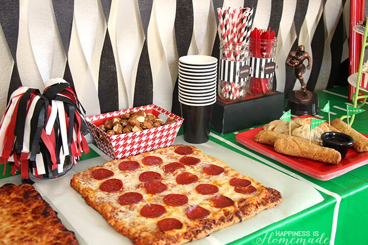 Football Tailgating Party at Home