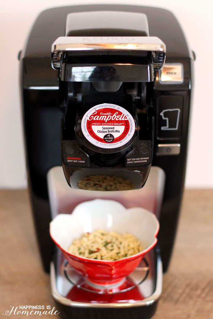 How to Make Campbell's Homestyle Soup in Your Keurig