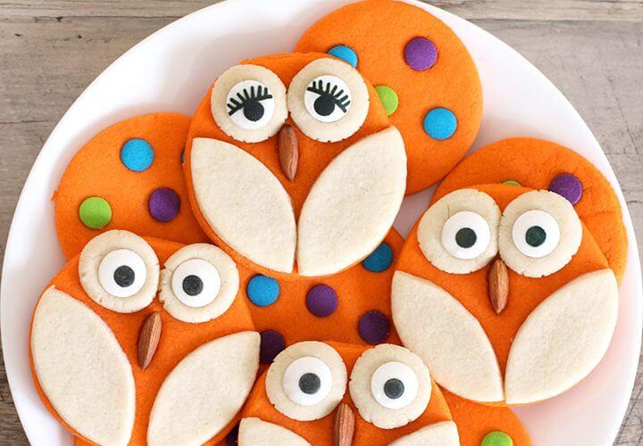 Halloween Baking: Owl Cookies