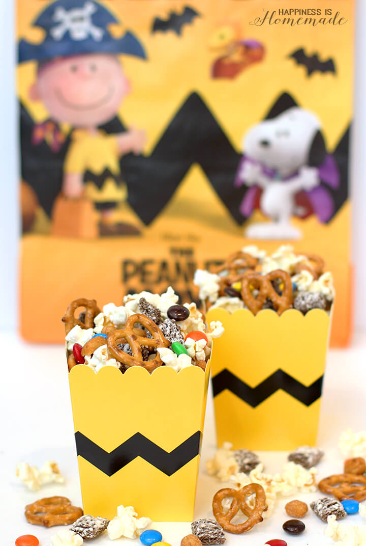 Peanuts Snack Mix and Trick or Treat Bags