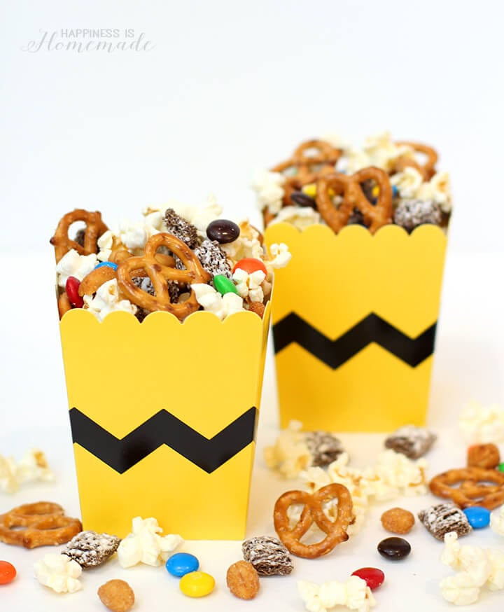 Peanuts Movie Snack Mix Happiness Is Homemade